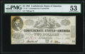 CT42/334 $2 1862 Contemporary Counterfeit PMG About Uncirculated 53
