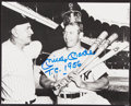 """Autographs:Photos, Mickey Mantle """"T.C. 1956"""" Signed Photograph...."""