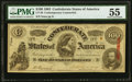 CT49/349A $100 1862 Contemporary Counterfeit PMG About Uncirculated 55