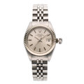 Estate Jewelry:Watches, Rolex Lady's Stainless Steel Watch. ...