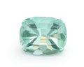 Gems:Faceted, Gemstone: Fluorite - 18.56 Cts.. New Hampshire, USA. 18.03 x 14.57 x 10.3 mm. ...