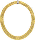 Estate Jewelry:Necklaces, Diamond, Ruby, Gold Necklace, Roberto Coin. ...