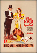 """Movie Posters:Mystery, After the Thin Man (MGM, 1937). Very Fine+ on Linen. Pre-War Belgian (16"""" X 23""""). Belgian Title: Nick, Gentleman Détective..."""