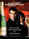 """Movie Posters:James Bond, James Bond Commercial Poster Lot (Various, 1997-2002) Rolled and Folded, Very Fine. Posters (4) (17"""" X 23.25,"""" 23.5"""" X 31.5,... (Total: 4 Items)"""