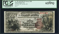 Newark, OH - $50 1882 Brown Back Fr. 508 The First NB Ch. # 858 PCGS New 62PPQ