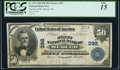 National Bank Notes:Pennsylvania, Mercer, PA - $50 1902 Plain Back Fr. 675 The First NB Ch. # 392 PCGS Fine 15.. ...
