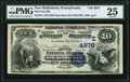 National Bank Notes:Pennsylvania, New Bethlehem, PA - $10 1882 Date Back Fr. 542 The First NB Ch. # (E)4978 PMG Very Fine 25.. ...