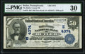 National Bank Notes:Pennsylvania, Butler, PA - $50 1902 Date Back Fr. 670 The Butler County NB Ch. # (E)4374 PMG Very Fine 30.. ...