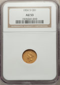1856-S G$1 Type Two AU53 NGC. FS-501....(PCGS# 7536)