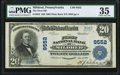 National Bank Notes:Pennsylvania, Mildred, PA - $20 1902 Plain Back Fr. 652 The First NB Ch. # 9552 PMG Choice Very Fine 35.. ...