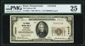 National Bank Notes:Pennsylvania, Rome, PA - $20 1929 Ty. 1 The Farmers NB Ch. # 10246 PMG Very Fine 25.. ...