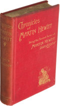 Books:Mystery & Detective Fiction, Arthur Morrison. Pair of Martin Hewitt Books. London and New York: 1895-1896. First and first U. S. editions.. ... (Total: 2 Items)