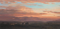 Paintings, David Caton (American, b. 1955). Sunrise in the Lowlands. Oil on canvas. 32 x 64 inches (81.3 x 162.6 cm). Signed lower ...