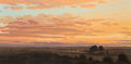Paintings, David Caton (American, b. 1955). Sunset in the Lowlands. Oil on canvas. 32 x 64 inches (81.3 x 162.6 cm). Signed lower r...