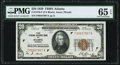 Fr. 1870-F $20 1929 Federal Reserve Bank Note. PMG Gem Uncirculated 65 EPQ