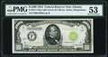 Small Size:Federal Reserve Notes, Fr. 2211-F $1,000 1934 Light Green Seal Federal Reserve Note. PMG About Uncirculated 53.. ...