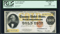 Large Size:Gold Certificates, Fr. 1215 $100 1922 Gold Certificate PCGS Apparent Very Fine 25.. ...
