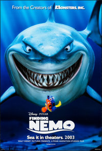 "Finding Nemo (Disney Pixar, 2003). Rolled, Very Fine+. One Sheet (27"" X 40"") DS Advance. Animation"