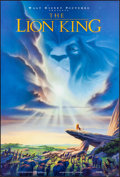 """Movie Posters:Animation, The Lion King & Other Lot (Buena Vista, 1994). Rolled, Very Fine. Mini Posters (2) (18.25"""" X 27"""" & 17.75"""" X 27""""). John Alvin... (Total: 2 Items)"""