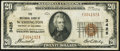 National Bank Notes:District of Columbia, Washington, DC - $20 1929 Ty. 1 NB of Washington Ch. # 3425 Fine.. ...