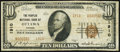 National Bank Notes:Kansas, Ottawa, KS - $10 1929 Ty. 2 The Peoples NB Ch. # 1910 Fine.. ...