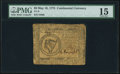 Continental Currency May 10, 1775 $8 PMG Choice Fine 15