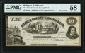 Obsoletes By State:Michigan, Coldwater, MI- Branch County Savings Bank-A.T. Lanphere & Co. $10 18__ Remainder PMG Choice About Unc 58.. ...