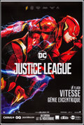 "Movie Posters:Action, Justice League (Warner Brothers, 2017). Rolled, Very Fine. FrenchGrande (46.5"" X 69"") DS Advance, Flash Style. Action.. ..."