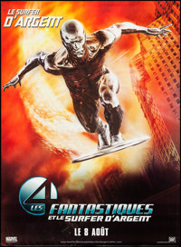 """Fantastic Four: Rise of the Silver Surfer (20th Century Fox, 2007). Rolled, Very Fine. French Grande (45.5"""" X 62&qu..."""