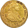 Colombia, Colombia: Ferdinand VII gold Escudo 1810 P-JF AU53 NGC,...