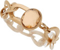 Estate Jewelry:Bracelets, Quartz, Rose Gold Bracelet, Pomellato. ...