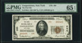 National Bank Notes:New York, Cooperstown, NY - $20 1929 Ty. 2 The First NB Ch. # 280 PMG Gem Uncirculated 65 EPQ.. ...
