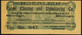 Confederate Notes:1864 Issues, Facsimile T69 $5 1864 Advertising Note Extremely Fine.. ...
