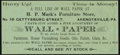 Confederate Notes:1864 Issues, Facsimile T66 $50 1864 Advertising Note Choice About Uncirculated.. ...