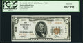 National Bank Notes:Nevada, Reno, NV - $5 1929 Ty. 2 First NB Ch. # 7038 PCGS Gem New 66PPQ.. ...