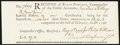 Colonial Notes:Connecticut, Connecticut Ralph Pomeroy Comptroller Receipt 17s/4d May 1, 1790Choice New.. ...
