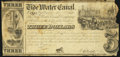 Obsoletes By State:Maryland, Baltimore, MD- Tide Water Canal Company $3 May 1, 1840 Fine.. ...