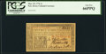 Colonial Notes:New Jersey, New Jersey March 25, 1776 1s PCGS Gem New 66PPQ.. ...