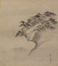 Paintings, An Asian Silk Painting. Marks: (artist's signature seal). 7-1/2 x 6-3/4 inches (19.1 x 17.1 cm). ...
