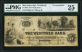 Obsoletes By State:Massachusetts, Westfield, MA- Westfield Bank Counterfeit $5 Sept. 13, 1864 C8a PMG Very Fine 25.. ...