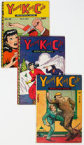 Golden Age (1938-1955):Crime, Young King Cole Group of 9 (Novelty Press, 1945-47) Condition: Average VG-.... (Total: 9 )