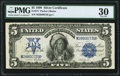Large Size:Silver Certificates, Fr. 277 $5 1899 Silver Certificate PMG Very Fine 30.. ...