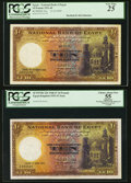 Egypt National Bank of Egypt 10 Pounds 13.10.1939; 7.4.1945; 20.4.1945; 16.5.1951 Pick 23a; 23b (2); 23d Four Example