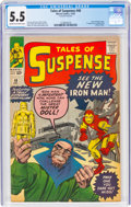 Silver Age (1956-1969):Superhero, Tales of Suspense #48 (Marvel, 1963) CGC FN- 5.5 Cream to off-white pages....
