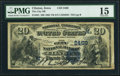 National Bank Notes:Iowa, Clinton, IA - $20 1882 Value Back Fr. 581 The City NB Ch. # (M)2469 PMG Choice Fine 15.. ...