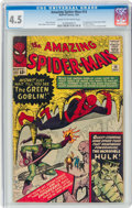 Silver Age (1956-1969):Superhero, The Amazing Spider-Man #14 (Marvel, 1964) CGC VG+ 4.5 Cream to off-white pages....