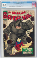 Silver Age (1956-1969):Superhero, The Amazing Spider-Man #41 (Marvel, 1966) CGC VG- 3.5 Off-white to white pages....
