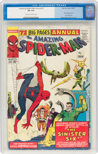 The Amazing Spider-Man Annual #1 (Marvel, 1964) CGC VG 4.0 Off-white to white pages