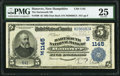 National Bank Notes:New Hampshire, Hanover, NH - $5 1902 Date Back Fr. 590 The Dartmouth NB Ch. # (N)1145 PMG Very Fine 25.. ...