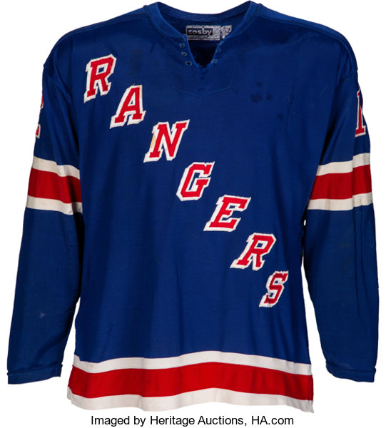 pretty nice 3588b a8319 1975-79 Phil Esposito Game Worn New York Rangers Jersey--Photo Matched!...